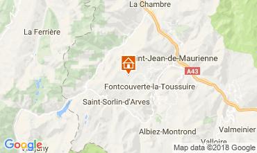 Kaart La Toussuire Chalet 52378