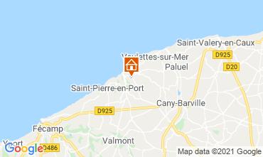 Kaart Etretat Chalet 86314