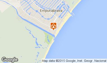 Kaart Empuriabrava Appartement 60216
