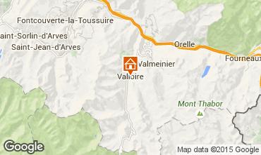Kaart Valloire Appartement 3391