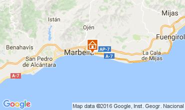 Kaart Marbella Appartement 100764