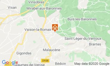 Kaart Vaison la Romaine Villa 111380