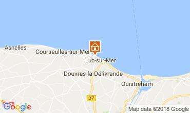 Kaart Langrune sur mer Huis 113675