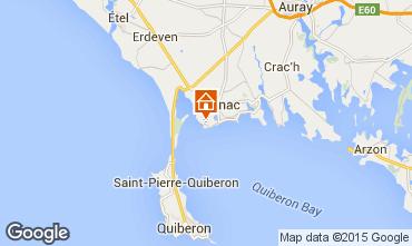 Kaart Carnac Appartement 82528