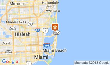 Kaart Miami Beach Villa 115572