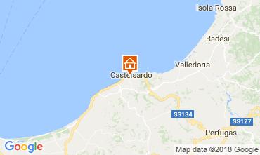 Kaart Castelsardo Appartement 115440