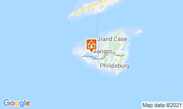 Kaart Marigot Appartement 114553