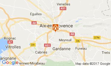 Kaart Aix en Provence Appartement 112710