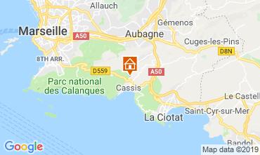 Kaart Cassis Villa 119721