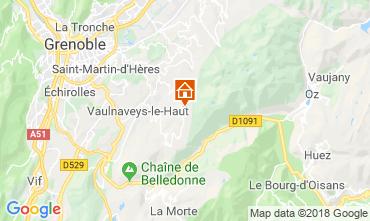 Kaart Chamrousse Appartement 116984