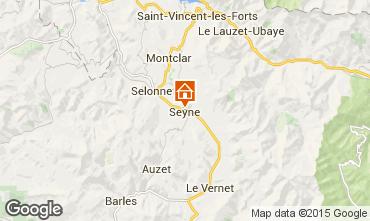 Kaart Seyne les Alpes Huis 568