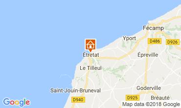 Kaart Etretat Huis 113628