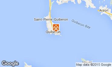 Kaart Quiberon Appartement 74806