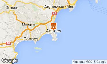 Kaart Antibes Studio 98215