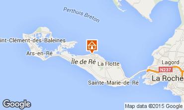 Kaart Saint Martin de Ré Huis 80732