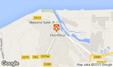 Kaart Honfleur Appartement 7650
