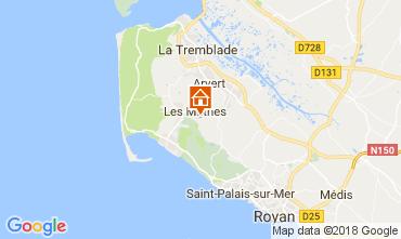 Kaart La Palmyre Huis 112282