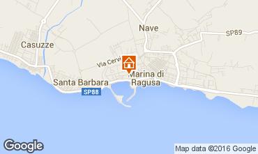 Kaart Marina di Ragusa Appartement 103248