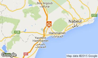 Kaart Hammamet Villa 92356