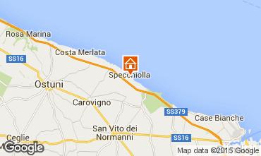 Kaart Ostuni Villa 95672