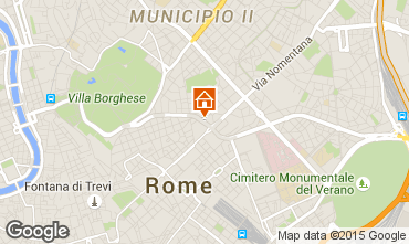 Kaart Rome Appartement 57760