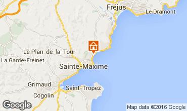 Kaart Sainte Maxime Villa 70153