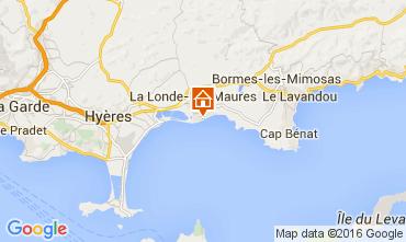 Kaart La Londe les Maures Appartement 103800