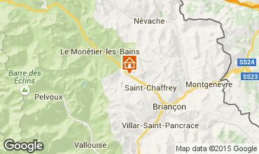 Kaart Serre Chevalier Chalet 2917