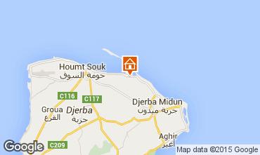 Kaart Djerba Villa 9885