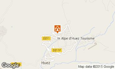 Kaart Alpe d'Huez Studio 87621