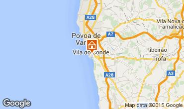 Kaart Vila do Conde Appartement 87313