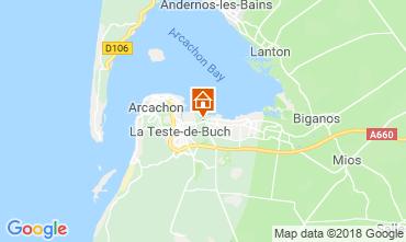 Kaart Arcachon Huis 110612