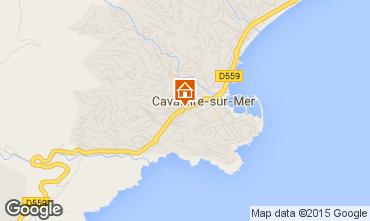 Kaart Cavalaire-sur-Mer Appartement 93859
