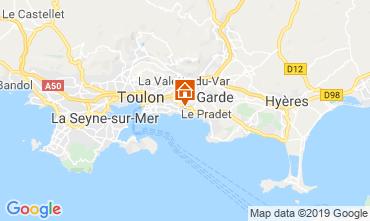 Kaart Toulon Studio 118866