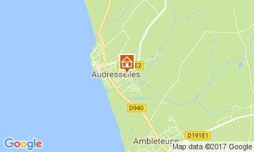 Kaart Audresselles Vakantiehuis 101559