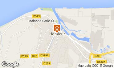 Kaart Honfleur Appartement 98058