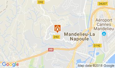 Kaart Mandelieu la Napoule Villa 114145