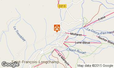 Kaart Saint François Longchamp Appartement 68919