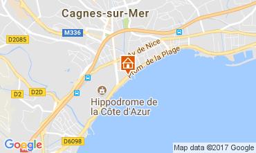 Kaart Cagnes sur Mer Appartement 111275