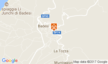 Kaart Badesi Appartement 112512