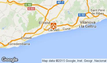 Kaart Calafell Appartement 51755