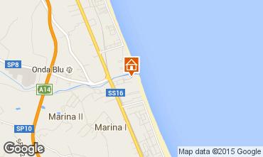 Kaart Giulianova Appartement 35266