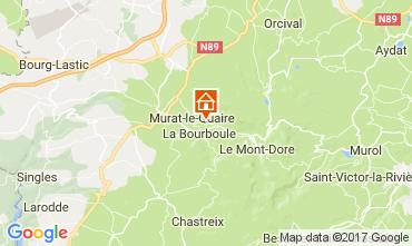 Kaart La Bourboule Chalet 111687