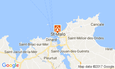 Kaart Saint Malo Appartement 111558