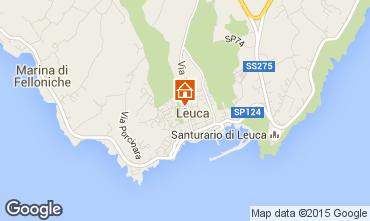 Kaart Santa Maria di Leuca Appartement 84118