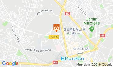 Kaart Marrakech Appartement 118460