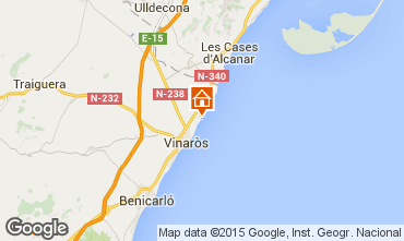Kaart Vinaròs Appartement 80636
