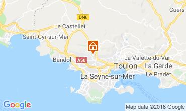 Kaart Ollioules Villa 117415