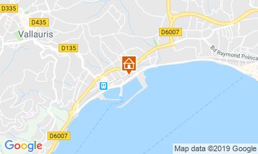 Kaart Golfe Juan Appartement 117787