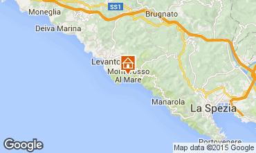 Kaart Monterosso al Mare Appartement 50061